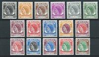 British Colonies 1954 - Mic. 28-43 - Unused