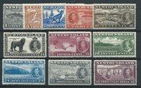 British Colonies 1937 - GS. 221-32 - Unused/Mint