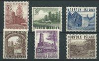 British Colonies 1953 - Mic. 15-20 - Unused