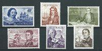 Australia 1966 - Mic. 374-79 - Mint