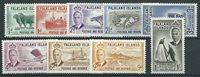 British Colonies 1952 - Mic. 102-110 - Mint