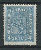 Norvège 1867 - AFA 14 - Neuf avec charnières