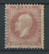 Norvège 1856 - AFA 5 - Neuf avec charnières
