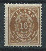 Island 1875 - AFA 9 - Ubrugt