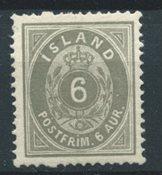 Island 1876 - AFA 7 - Ubrugt