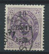 Danish West Indies 1895 - AFA 15 - Cancelled