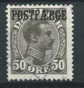 Danmark 1922 - PF AFA 7  - Stemplet