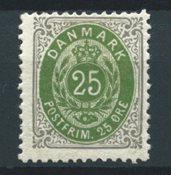 Danemark 1895 - AFA 29B - Neuf avec charnières
