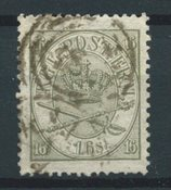 Danemark 1864 - AFA 15 - Oblitéré