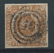 Danemark 1854 -   IIIb  Thiele - Oblitéré