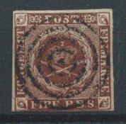 Danemark 1851 -  I  Ferslew - Oblitéré