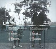 Jersey - Harry Vardon 150th birth *MS - Bloc-feuillet neuf