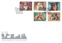 Sweden - Dogs - First Day Cover