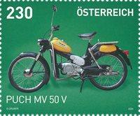 Autriche - Puch MV50V - Timbre neuf