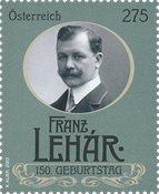 Østrig - Franz Lehar - Postfrisk frimærke