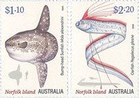 Norfolk Island - Fish - Mint set 2v
