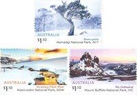 Australien - Australske alper - Postfrisk sæt 3v