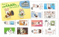 France - Rabbit, cartoon - Mint booklet