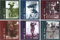 Jersey - Harry Vardon 150th anniversary - Mint set 6v