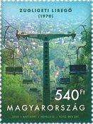 Ungarn - Stolelift - Postfrisk frimærke