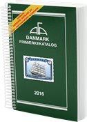 AFA Danmark frimærkekatalog 2016 med spiralryg