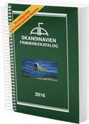 AFA Skandinavien frimærkekatalog 2016 med spiralryg - Bemærk! Uden de baltiske lande.
