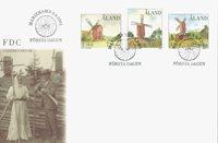 Åland 2001 - Env.premier jour - LAPE no. 192-194