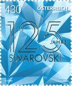 Austria - 125 years Swarovski - Mint stamp