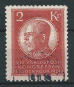 Sverige 1924 - AFA 172 - Stemplet