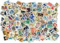加拿大-  500枚不同纪念邮票, 盖销票