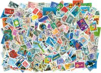 300 francobolli usati Francia