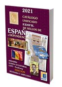 EDIFIL - Spain and colonies 2021 - Stamp catalogue