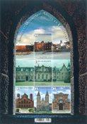 Belgien - Klostre - Postfrisk ark