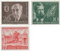 Allemagne/Berlin 1954 - Michel 115/117 - Neuf