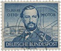 Republique Fédéraled'Allemagne 1952 - Michel 150 -  Oblitéré