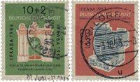 Tyskland 1953 - Michel 171-172 / AFA 1134-1135 - Stemplet