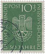 Republique Fédéraled'Allemagne 1953 - Michel 163 -  Oblitéré