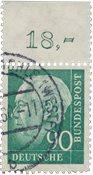 Allemagne 1956 - Michel 265OR - Oblitéré