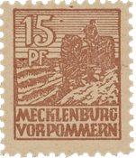 Tyskland Zoner 1946 - Michel 37za - Postfrisk