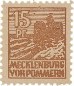 Tyskland Zoner 1946 - Michel 37yc - Postfrisk