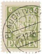 Tyskland Zoner 1945 - Michel 2v - Stemplet