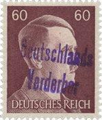Tyskland Zoner 1945 - Michel 19 - Postfrisk