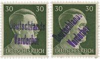 Tyskland Zoner 1945 - Michel 15 (2x) - Postfrisk