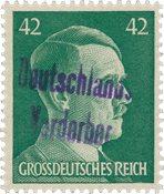 Tyskland Zoner 1945 - MICHEL 17 - Postfrisk