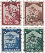 Empire Allemand - 1935 - Michel 565/558, oblitéré