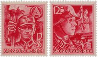 German Empire 1945 - MICHEL 909-910 - Mint