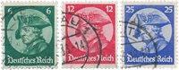 Empire Allemand - 1933 -  Michel 479/481 - Oblitéré