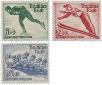 Empire Allemand 1936 - Michel 600/602 - Neuf avec charnières