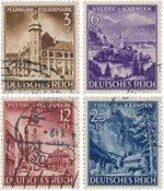 Tyskland - Tyske Rige 1941 - Michel 806/809 - Stemplet