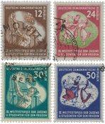 République Démocratique Allemande 1951 - Michel 289-292 - Oblitéré
